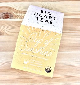 Big Heart Tea Co. Cup Of Sunshine Tea Bags Box
