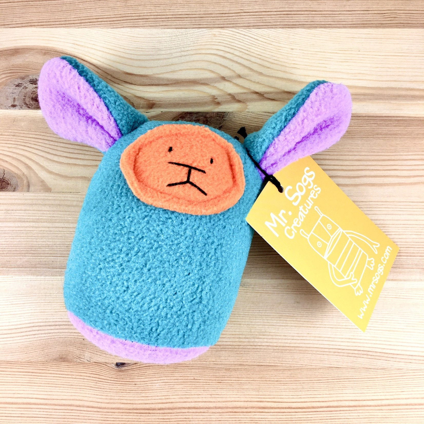 Mr. Sogs Creatures Plush Baby Rattle Creature