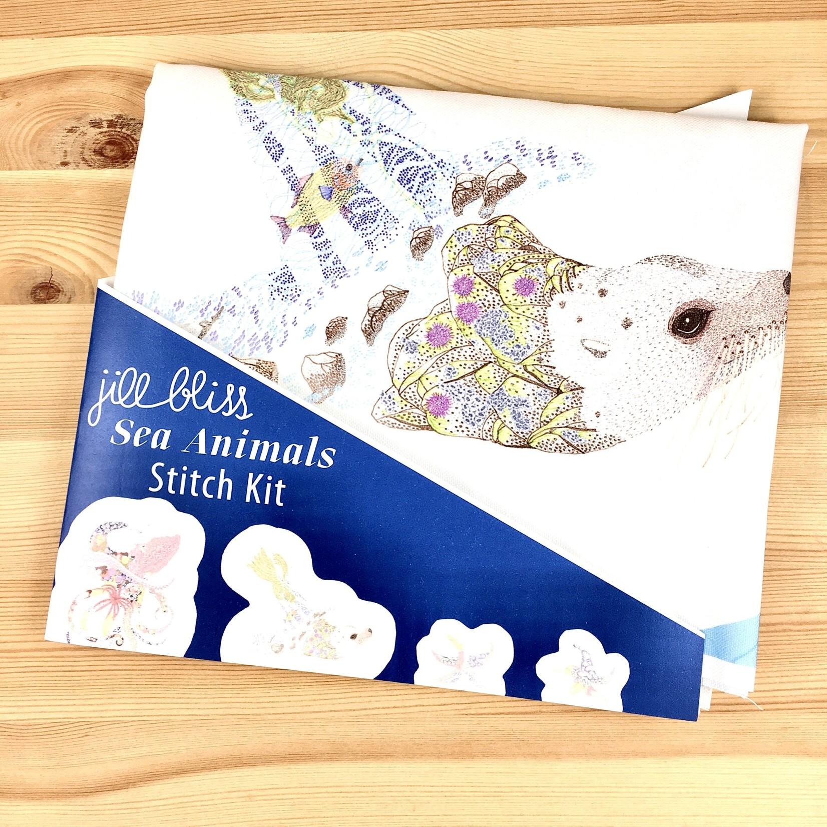 Jill Bliss The Sea Animals Stuffie Stitch Kit
