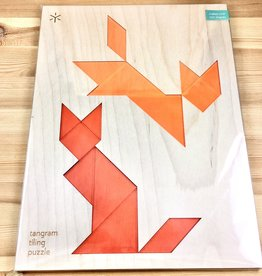Bright Beam Goods (Make ATX) Fox + Fox Tangram Puzzle