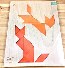 Bright Beam Goods (Make ATX) Fox + Fox Tangram Puzzle