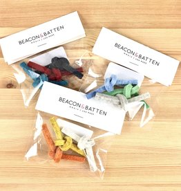 Beacon & Batten Felt Twist Cat Toys - Set of 3