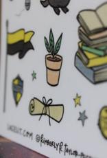 Lacelit Hufflehouse Vinyl Sticker Sheet