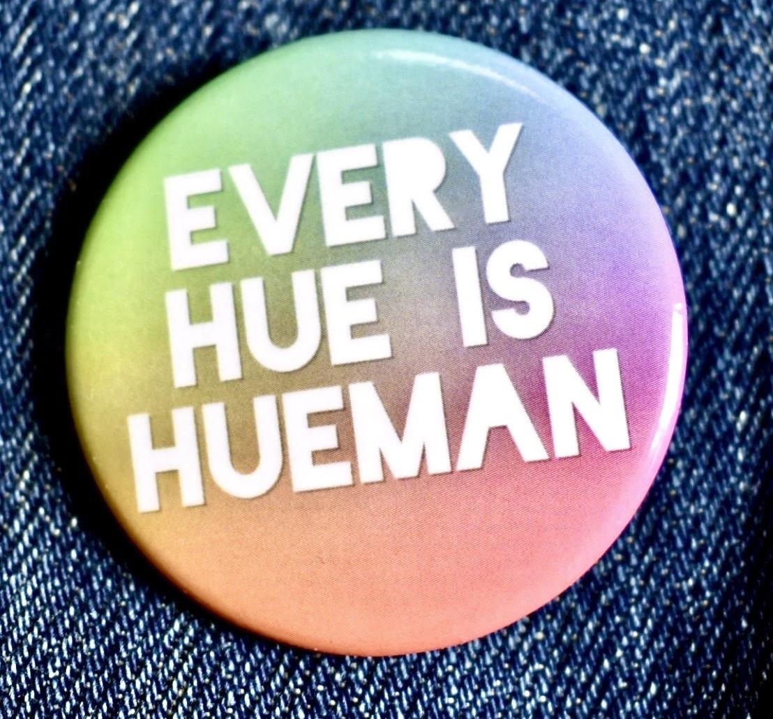Fiber and Gloss Hue Hueman Button