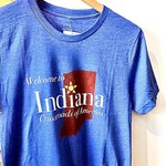 Hoosier Proud Welcome To Indiana Tee