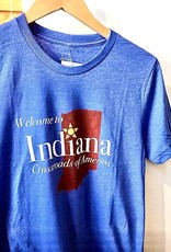 Hoosier Proud Welcome To Indiana Tee