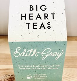 Big Heart Tea Co. Edith Grey Tea Bags Box