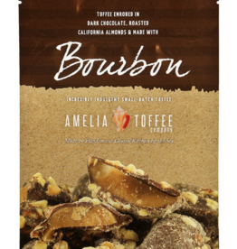 Amelia Toffee Company Bourbon Toffee - 3oz. Bag