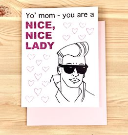 Paper Michelle Nice Nice Lady Greeting Card