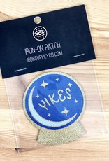 1606 // Sunset Avenue Ceramic Yikes Iron-on Patch