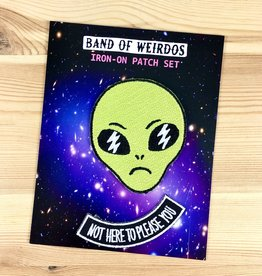 Band of Weirdos / Moss Love Limited Edition Not Here Patch Set