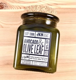 JKM Soy Candles AC: Avocado & Olive Leaf Soy Candle