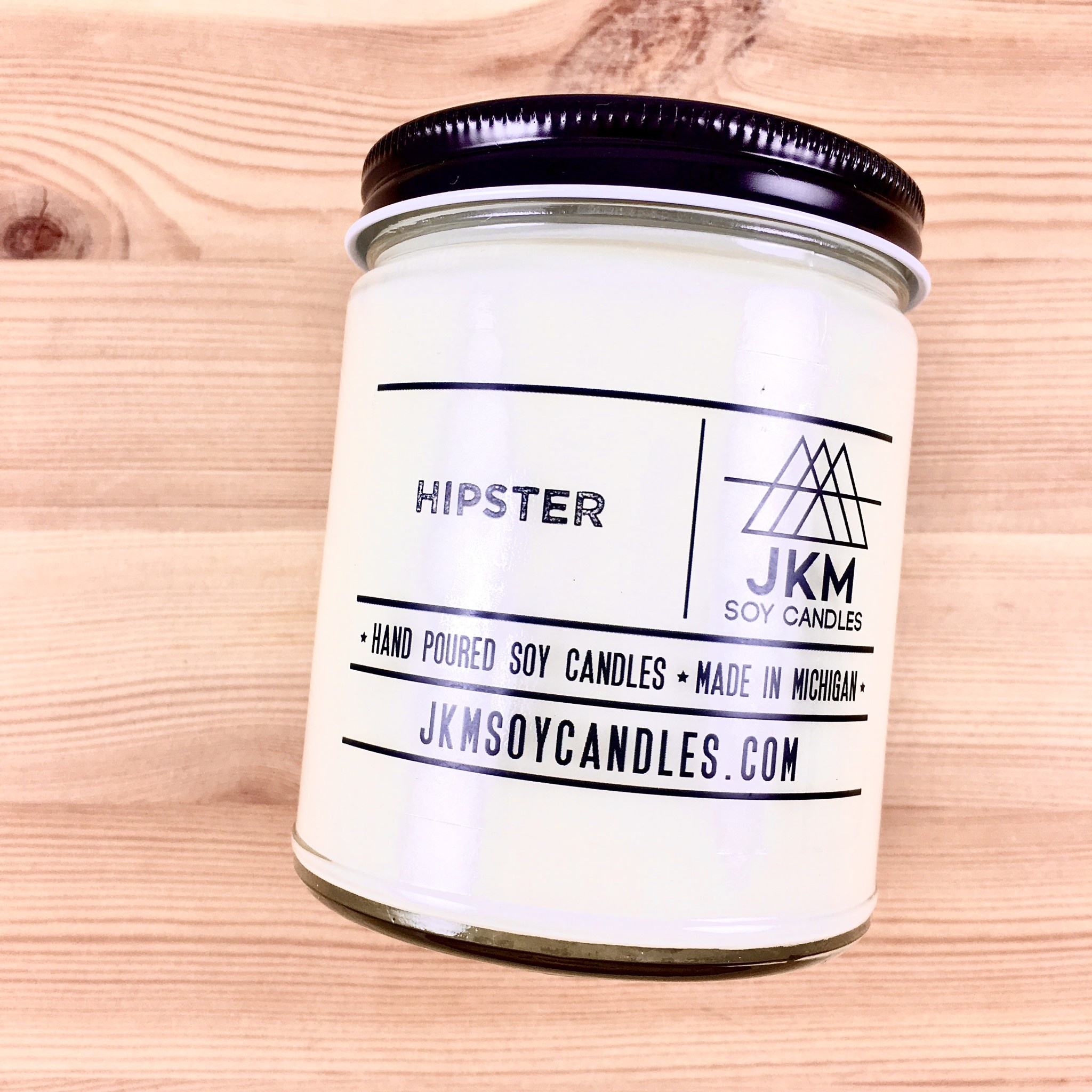 JKM Soy Candles BW: Hipster Soy Candle