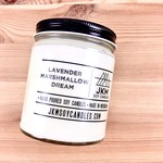 JKM Soy Candles BW: Lavender Marshmallow Dream Soy Candle