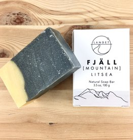 Landet Studio / KoenigCo. / Sunshine Raindrop Mountain (Fjall): Litsea Bar Soap