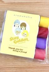 Aromaholic Golden Girls Lip Balm - Set of 4