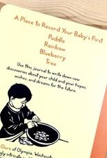 Nikki McClure The First 1000 Days - A Baby Journal - Nikki McClure