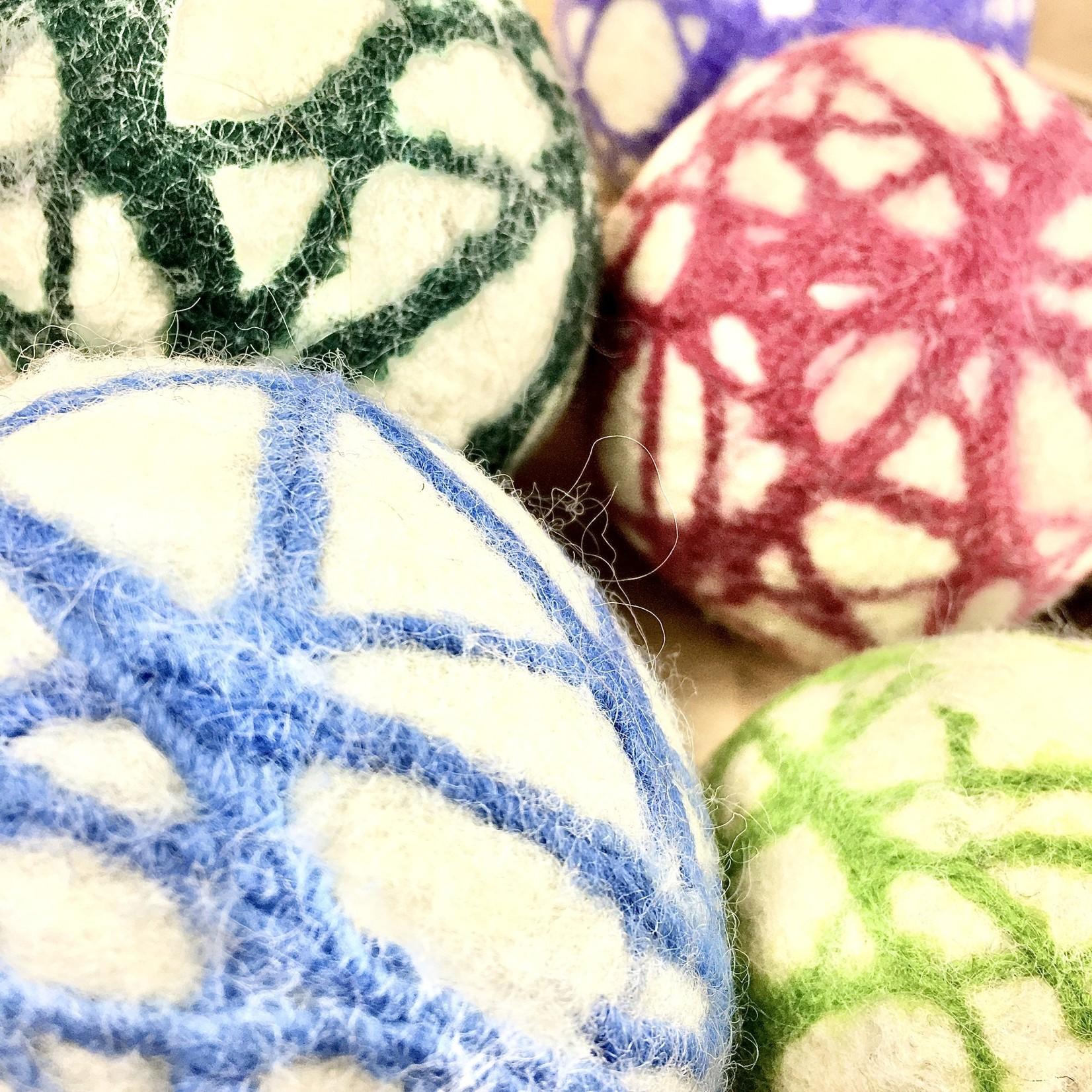 Sierra A. Cole Felted Wool Dryer Ball