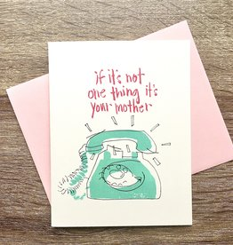 An Open Sketchbook It's Your Mother Greeting Card