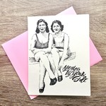 Big Wheel Press Always By Your Side Greeting Card