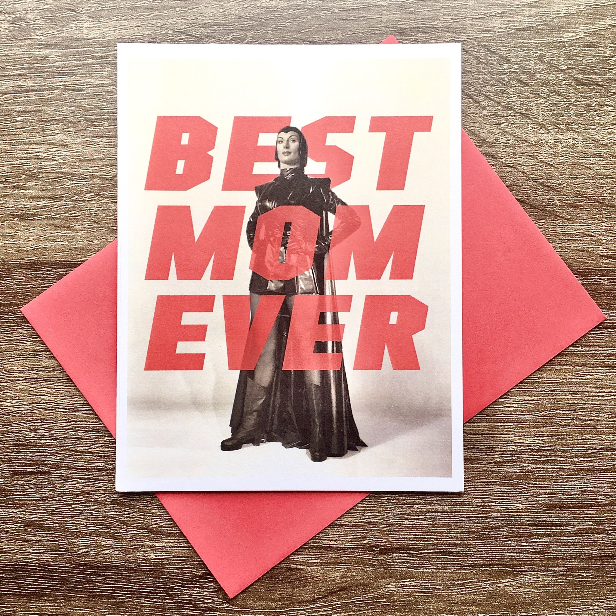 Alternate Histories Best Mom Ever Greeting Card