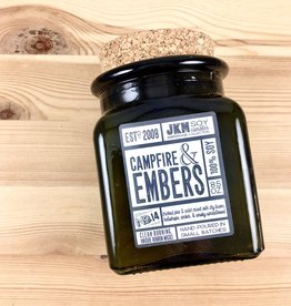 JKM Soy Candles AC: Campfire & Embers Soy Candle