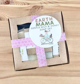 Granola Girl Skincare /Teehaus Bath + Body Earth Mama Soap Set