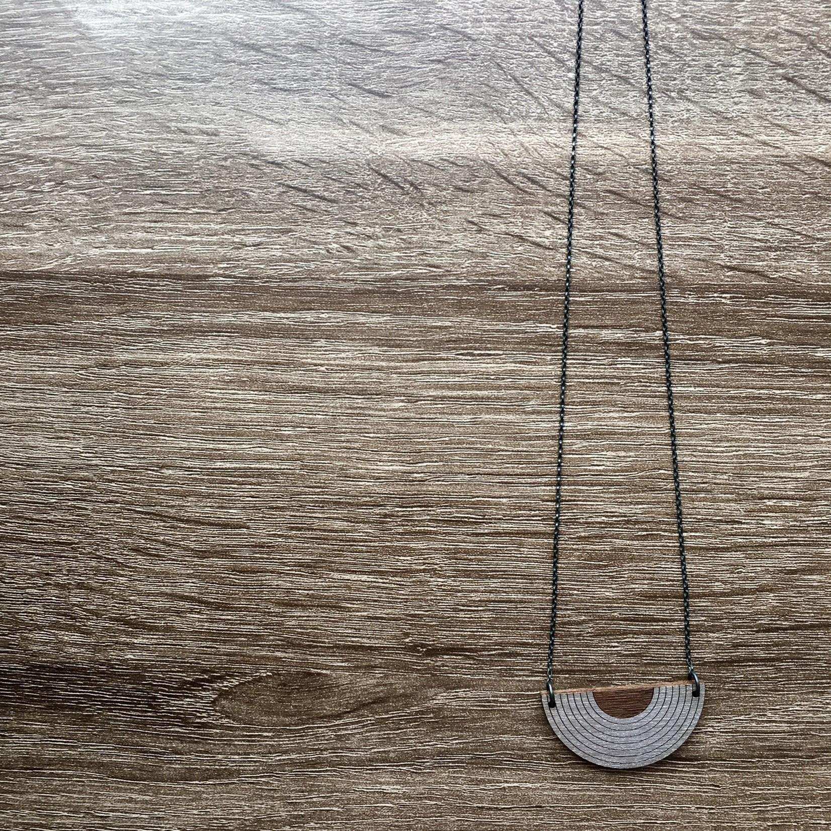 Bird of Virtue Ava Platinum Necklace
