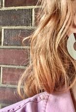 Bird of Virtue Ava Platinum Earrings