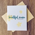 Iron Leaf Press Congrats Beautiful Mama Greeting Card