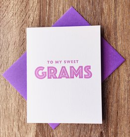 Iron Leaf Press To My Sweet Grams Greeting Card