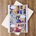 Loaded Blanks Love Story Fill-In Comic (Anniversary) Greeting Card