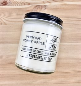 JKM Soy Candles BW: Vermont Honey Apple Soy Candle