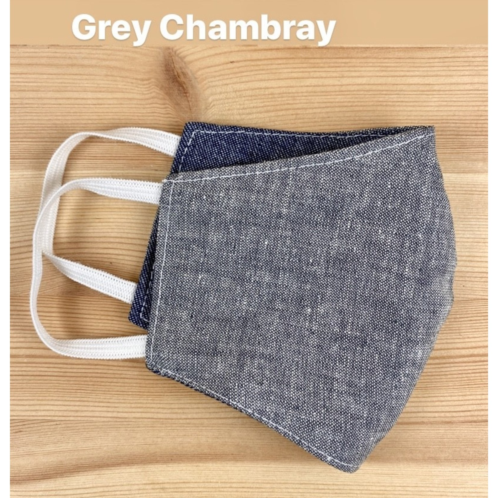 Tourance (APO) Chambray Child Face Mask