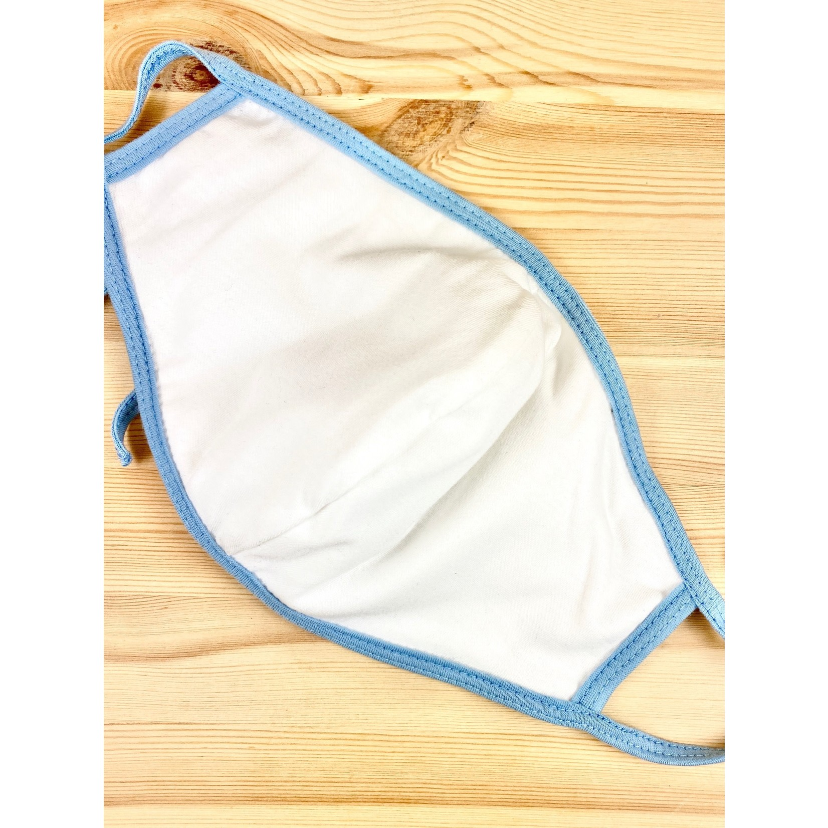CAMP Collection Cloud Camp Adult Face Mask - Blue