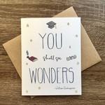 Lacelit You Shall See Wonders Graduation Greeting Card