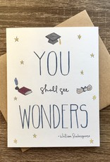 Lacelit You Shall See Wonders Greeting Card