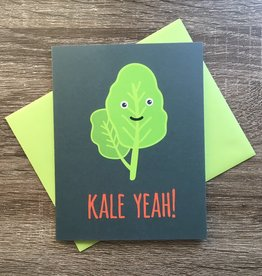 Mr. Sogs Creatures Kale Yeah Greeting Card