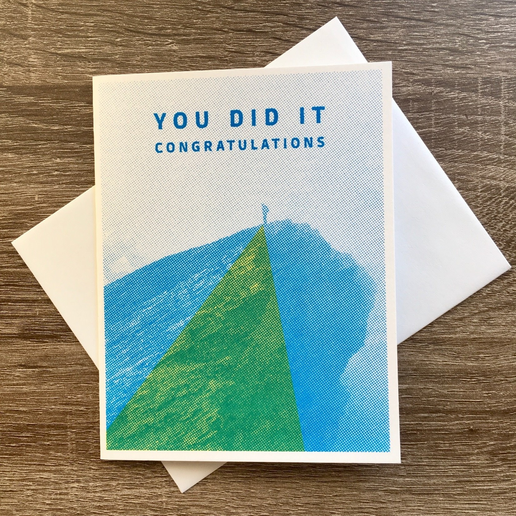 Arsenal Handicraft Congratulations You Did It Greeting Card