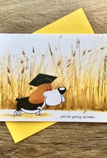 An Open Sketchbook You're Going Places (Beagle) Greeting Card