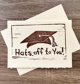 WryGoods Hats off to You! Greeting Card