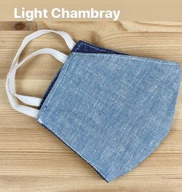 Tourance Chambray Child Face Mask