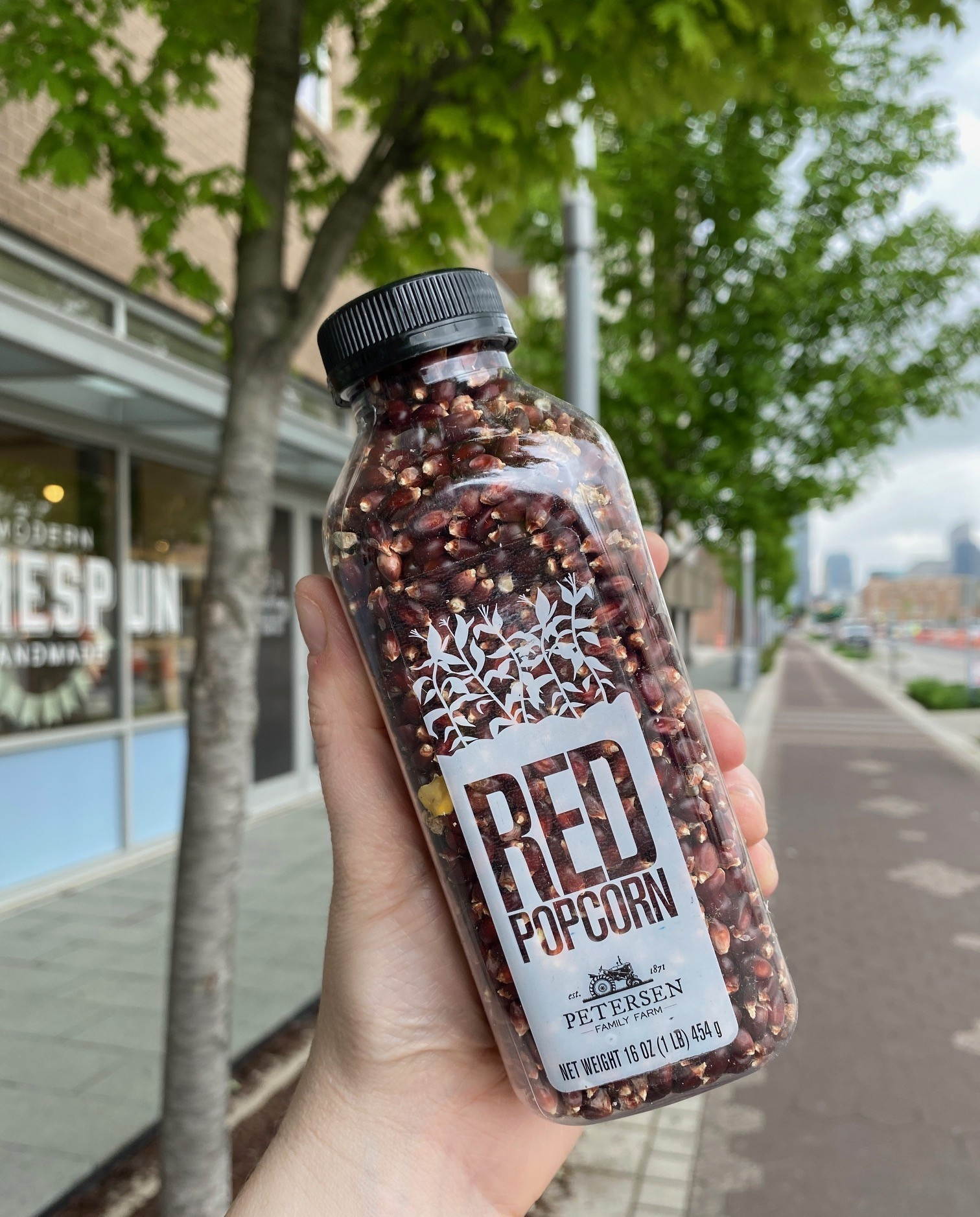 Petersen Family Farm Farm Fresh Bottled Red Popcorn