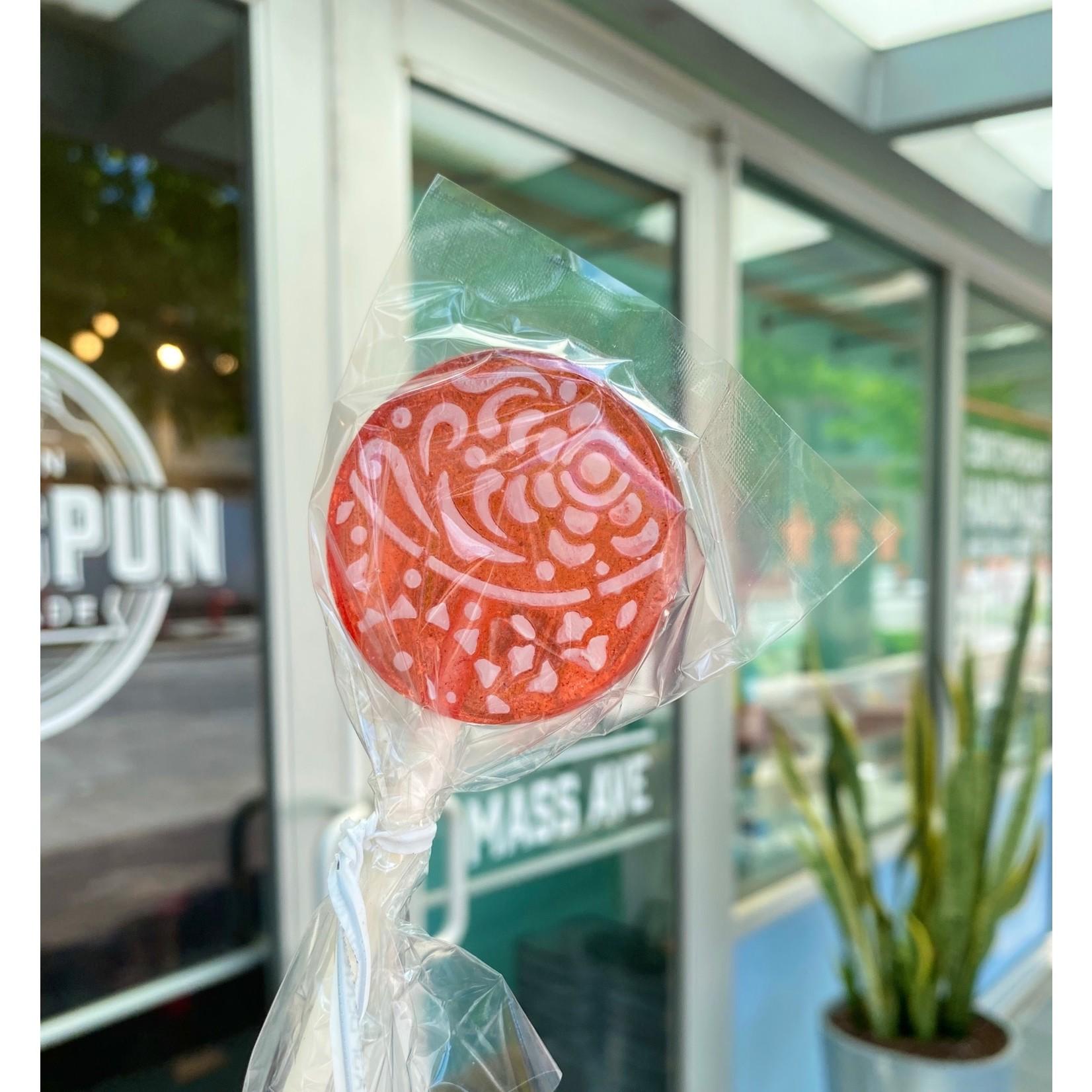 Popette Of Pendulum Fruity Flavor Lollipops: