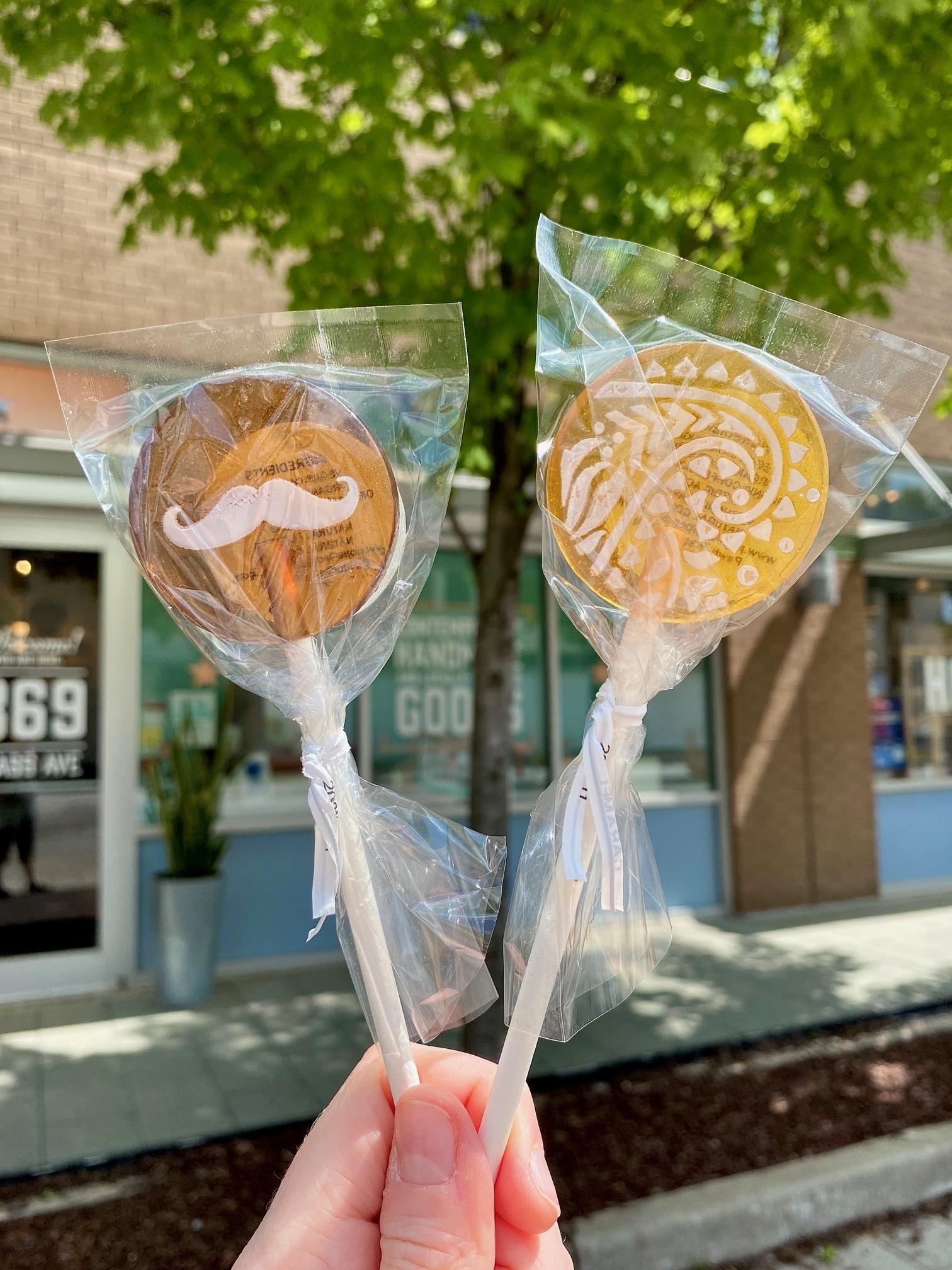 Popette Of Pendulum Classic Flavor Lollipops: