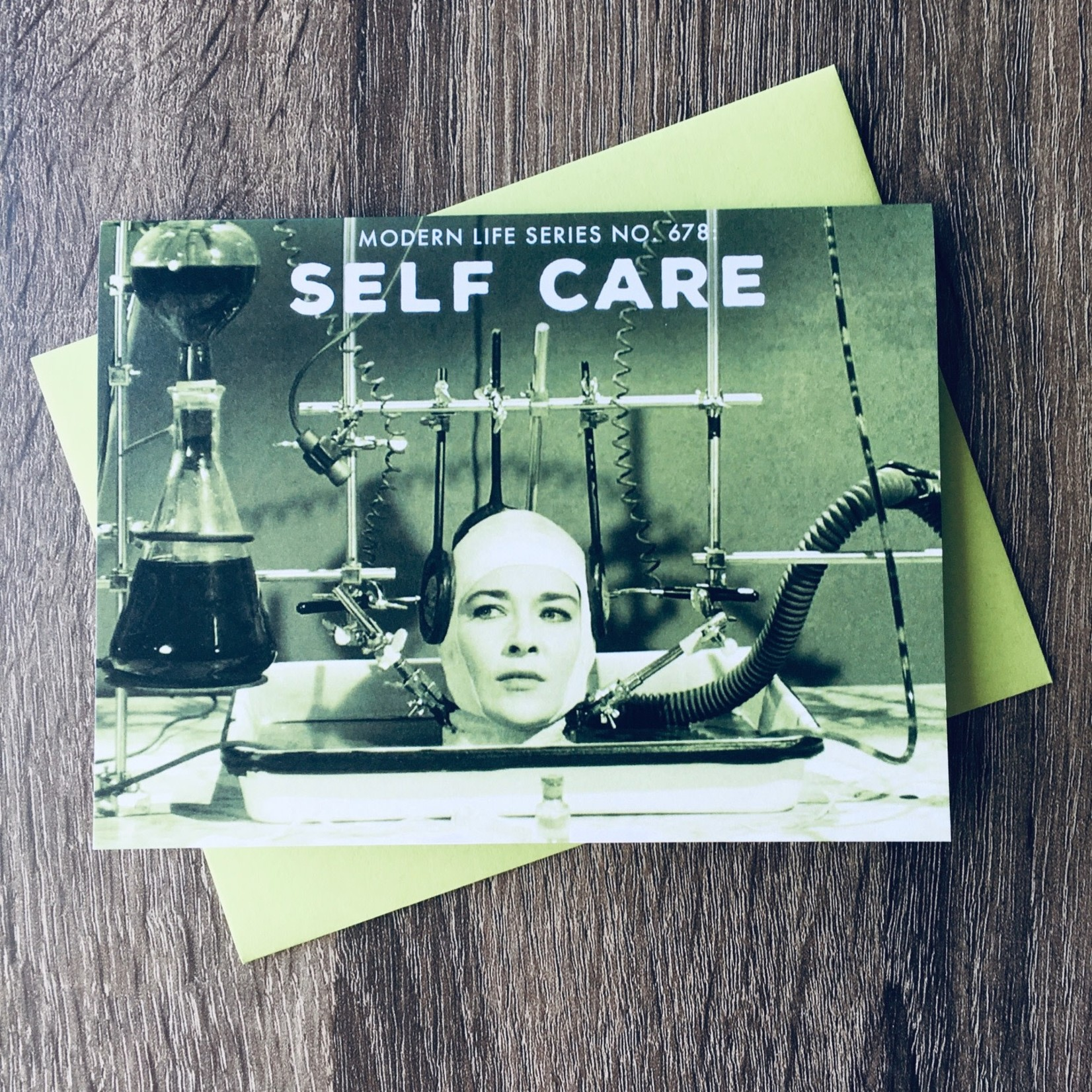 Alternate Histories Modern Life: Self-Care Greeting Card