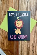 Mr. Sogs Creatures Roaring Birthday Lion Greeting Card