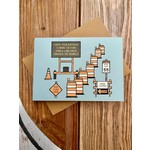 Champaign Paper Birthday Midwest Road Construction Greeting Card