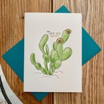 Artery Ink Nopalitos Cactus Lookin' Sharp Birthday Greeting Card