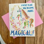 Meera Lee Patel More Magical Birthday Unicorn Greeting Card